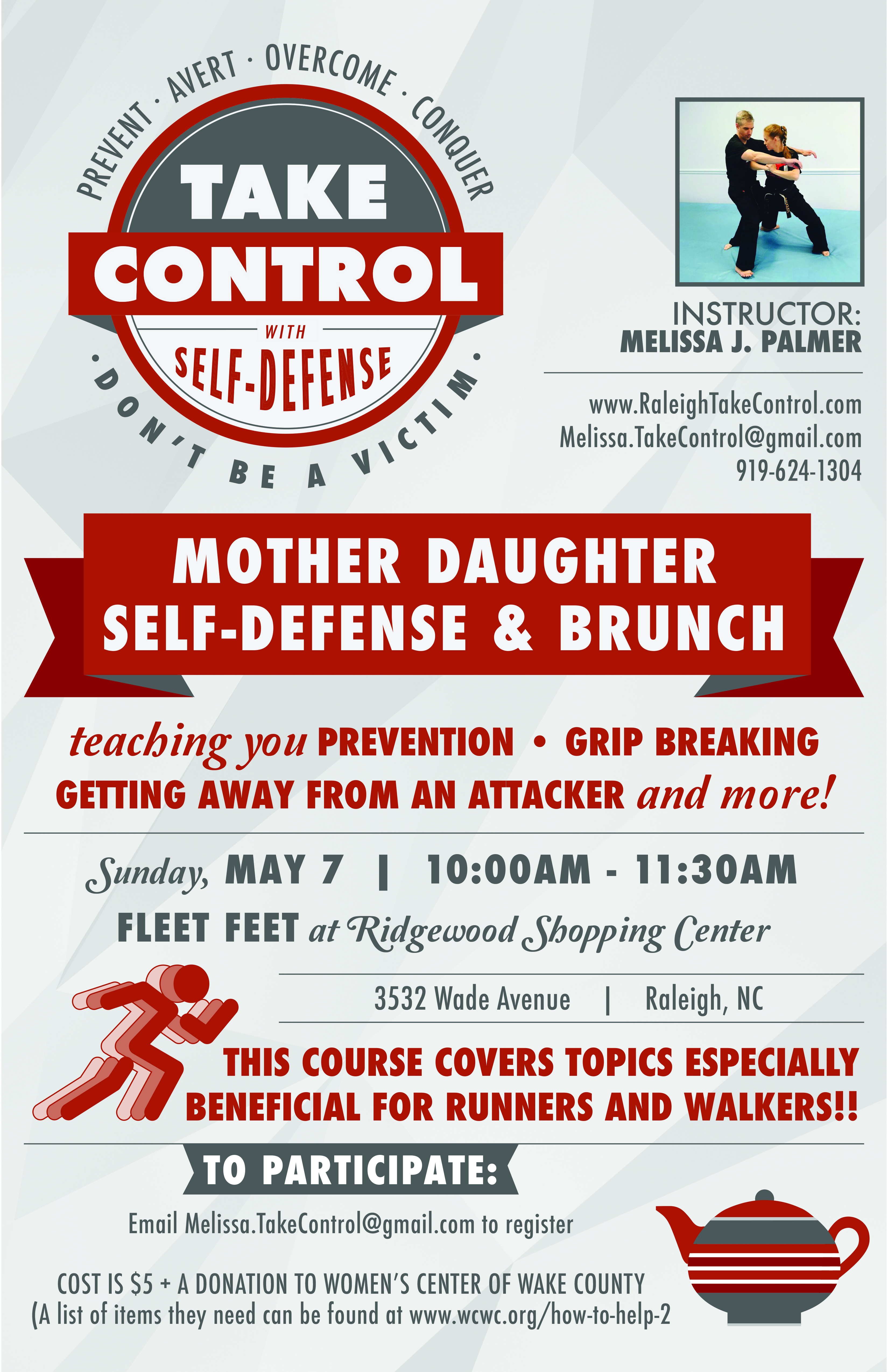 mother daughter self defense class